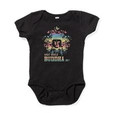 What Would Buddha Do? Baby Bodysuit
