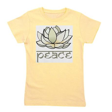 Lotus Girl's Tee
