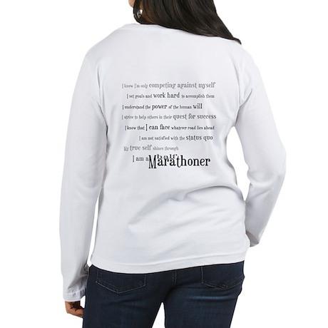 I'm a Half Marathoner Women's Long Sleeve T-Shirt