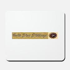 Gold Star Siblings Mousepad