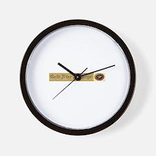 Gold Star Siblings Wall Clock