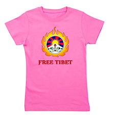 Flame Free Tibet Girl's Tee