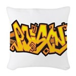 Poison Woven Throw Pillow