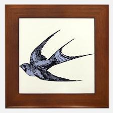 Swallow Framed Tile