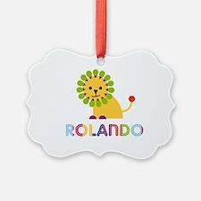 Rolando Loves Lions Ornament
