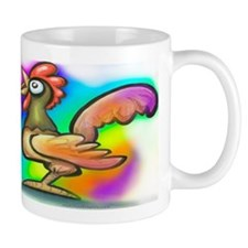 Rooster WIDE Mugs