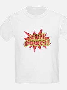 Curl Power Kids T-Shirt