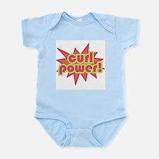 Curl Power Infant Bodysuit