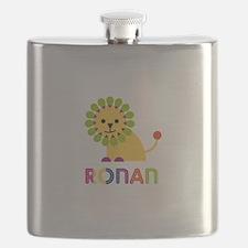 Ronan Loves Lions Flask
