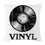 Vinyl Woven Throw Pillow