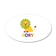 Rory Loves Lions Wall Decal