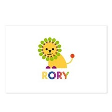 Rory Loves Lions Postcards (Package of 8)