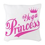 Yoga Princess Woven Throw Pillow