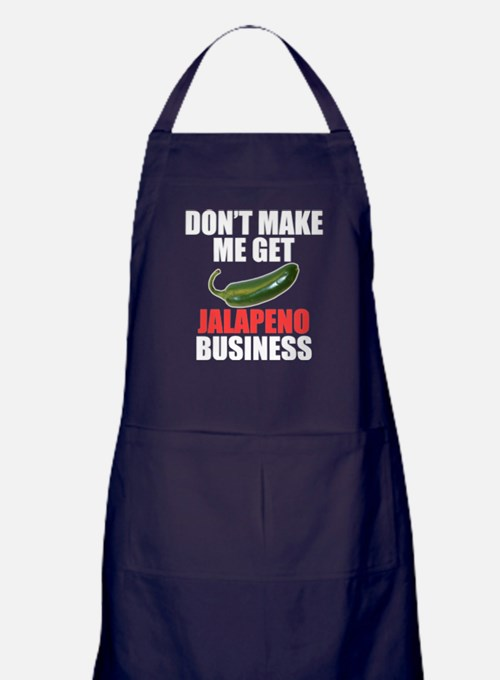 Jalapeno Business Apron (dark)