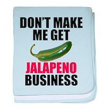 Jalapeno Business baby blanket