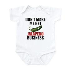 Jalapeno Business Infant Bodysuit
