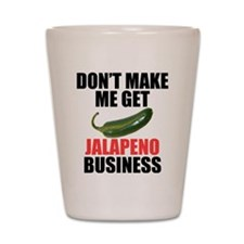 Jalapeno Business Shot Glass