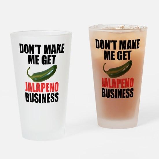 Jalapeno Business Drinking Glass