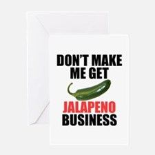 Jalapeno Business Greeting Card