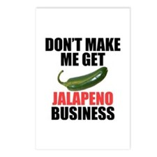 Jalapeno Business Postcards (Package of 8)