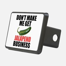 Jalapeno Business Hitch Cover