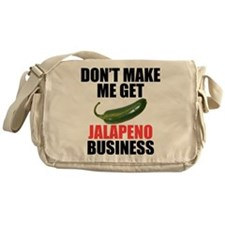 Jalapeno Business Messenger Bag