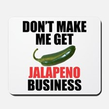 Jalapeno Business Mousepad