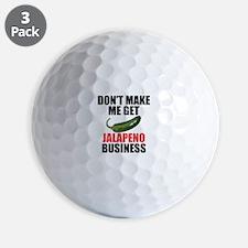 Jalapeno Business Golf Ball