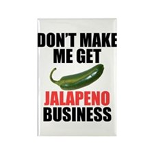 Jalapeno Business Rectangle Magnet