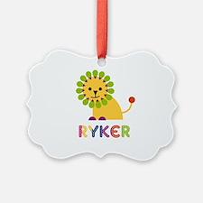 Ryker Loves Lions Ornament