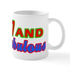 77 and fabulous Mug