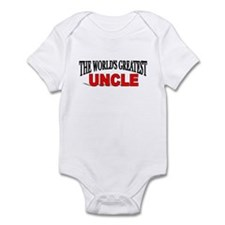 """""""The World's Greatest Uncle"""" Infant Creeper"""