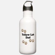 Yellow Lab Dad Water Bottle