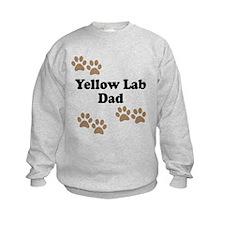 Yellow Lab Dad Sweatshirt