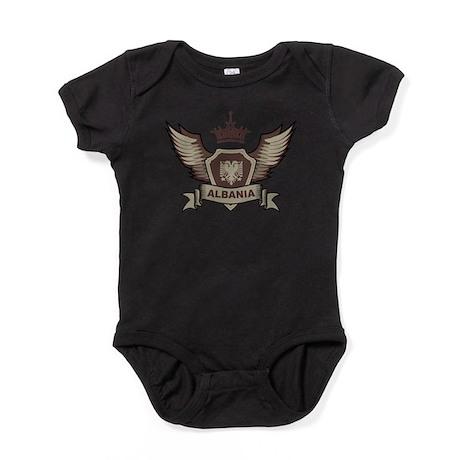 Albania Emblem Baby Bodysuit