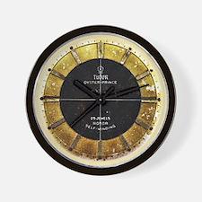 Tudor vintage dieselpunk wall clock