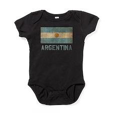 Vintage Argentina Baby Bodysuit