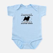 Sealyham Terrier dog funny designs Infant Bodysuit