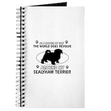 Sealyham Terrier dog funny designs Journal