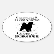 Sealyham Terrier dog funny designs Decal