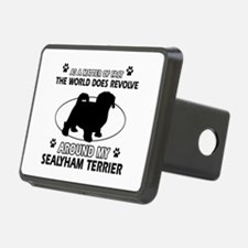 Sealyham Terrier dog funny designs Hitch Cover