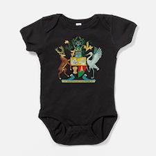 Queensland Coat Of Arms Baby Bodysuit