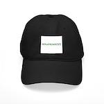 Statement Black Cap