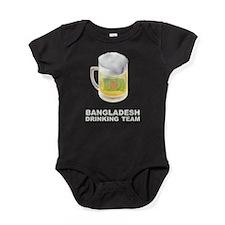 Cute Bangladesh Baby Bodysuit