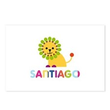 Santiago Loves Lions Postcards (Package of 8)