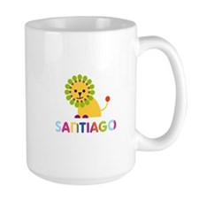 Santiago Loves Lions Mug