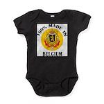 100% Made In Belgium Baby Bodysuit