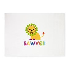 Sawyer Loves Lions 5'x7'Area Rug