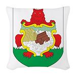 Bermuda Coat Of Arms Woven Throw Pillow