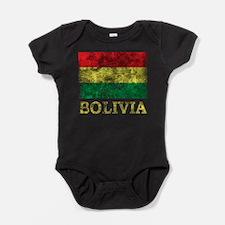 Vintage Bolivia Baby Bodysuit